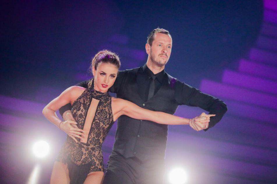 Pascal Hens, ehemaliger Handballer, und Ekaterina Leonova, Profitänzerin, tanzen in der RTL-Tanzshow Let's Dance.