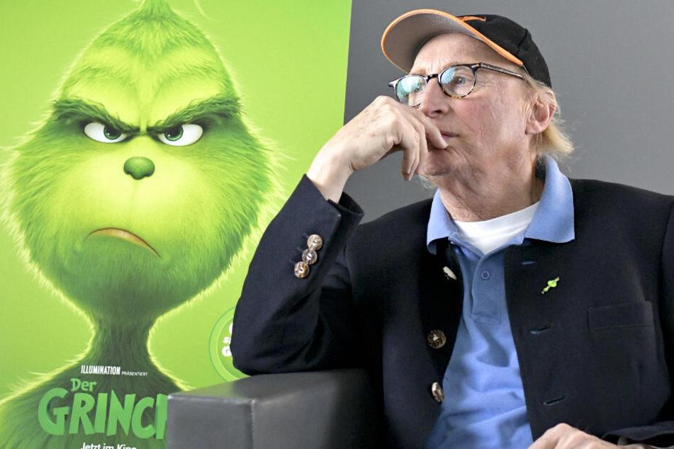"""Den Preis erhielt Otto für seine Arbeit beim Trickfilm """"Der Grinch""""."""