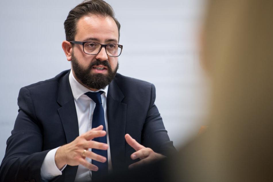 Sebastian Gemkow bleibt als Justizminister.