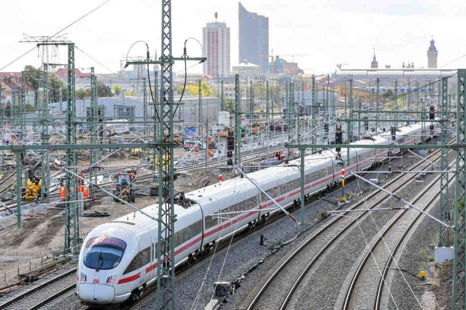 Mehrere Züge fallen dadurch aus.