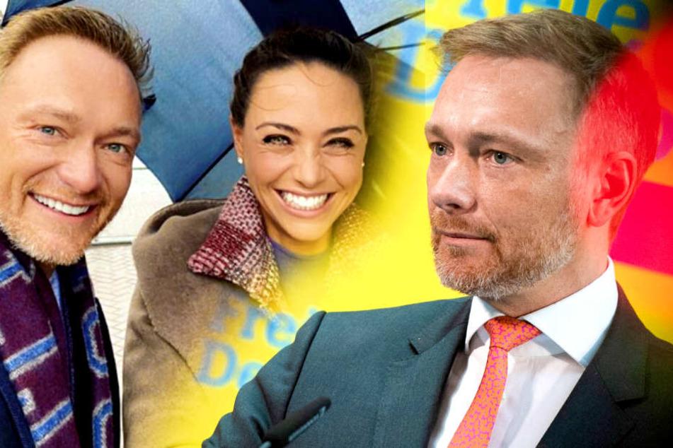 Nach Wahl-Debakel: FDP-Chef Christian Lindner erntet Kritik für dieses Foto mit Freundin!