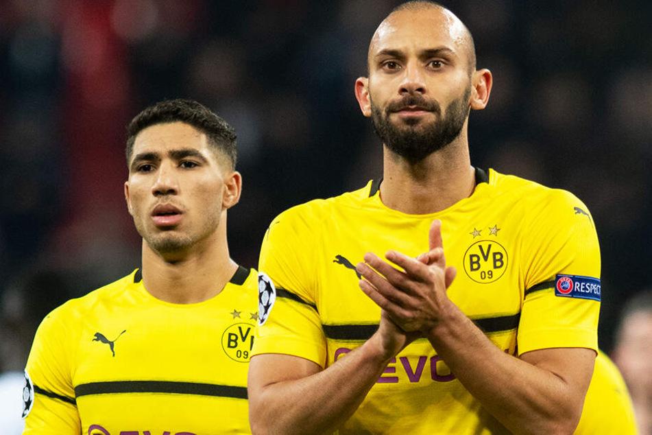 Ömer Toprak (r.) durfte im Supercup gegen den FC Bayern München noch einmal über 90 Minuten ran. Am Ende gewann der BVB mit 2:0.