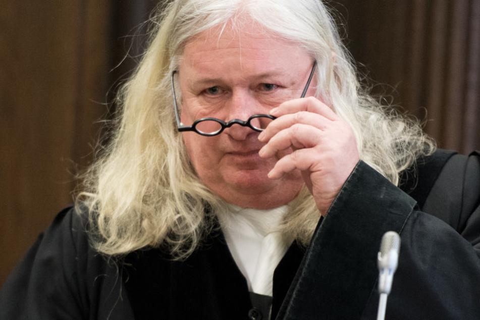 """Er entscheidet über das """"Schmähgedicht"""". Der Vorsitzende Richter Andreas Buske im Landgericht Hamburg."""