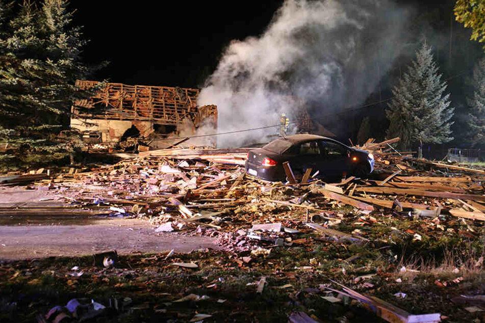 Die Frau hatte im Oktober 2012 mehrere Gasflaschen aufgedreht und mit einem Streichholz die Explosion ausgelöst.