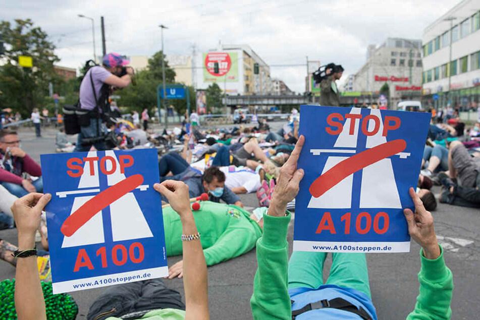 Die A100-Gegner würden die alternative Bebauung von Wohnungen sicherlich willkommen heißen, ist ihr Protest gegen die Verlängerung bisher nicht von Erfolg gekrönt.
