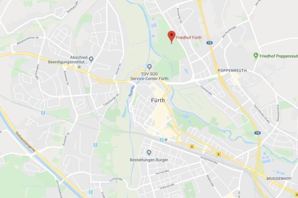 In Fürth ist es zu einem überaus kuriosen Zwischenfall gekommen.