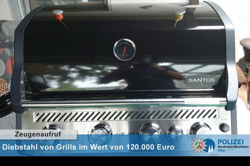 In Köln wurden rund 100 teure Grills geklaut und als Hehlerware weiterverkauft.