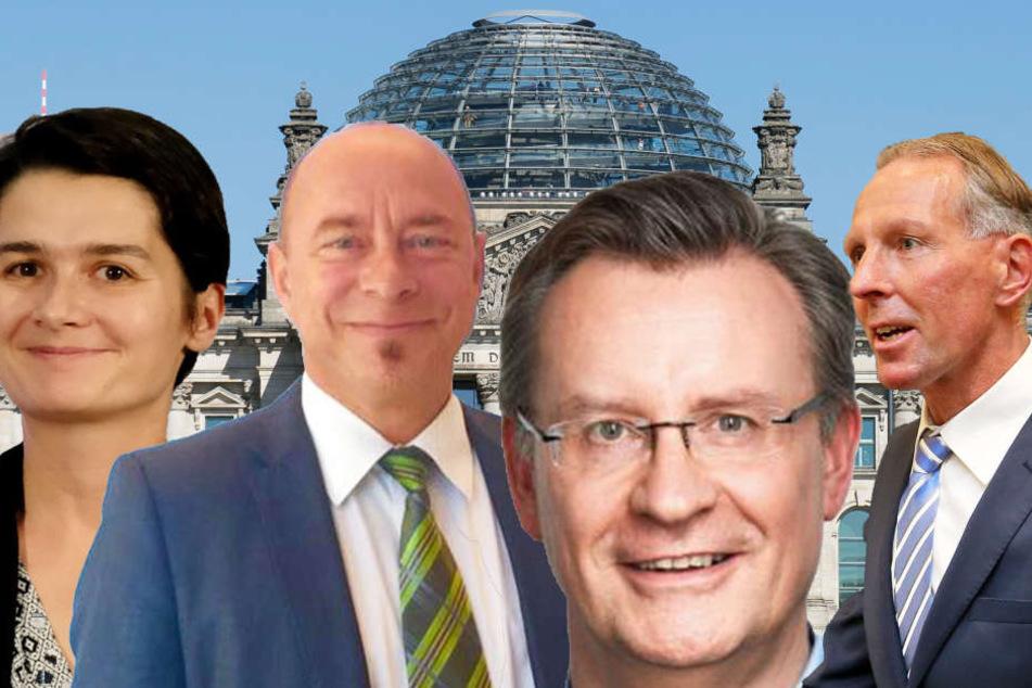 Wahlsonntag: Wer schafft's aus Leipzig in den Bundestag?