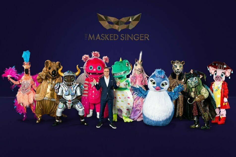 """So sehen die prominenten Teilnehmer von """"The Masked Singer"""" in diesem Jahr aus."""