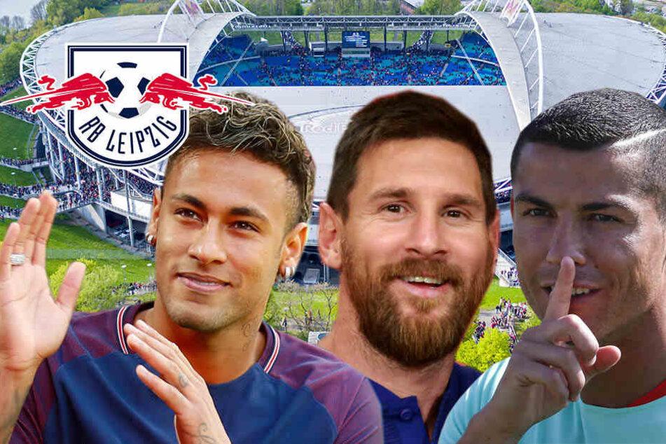 Ronaldo, Messi, Neymar: Wen bekommt RB Leipzig heute zugelost?