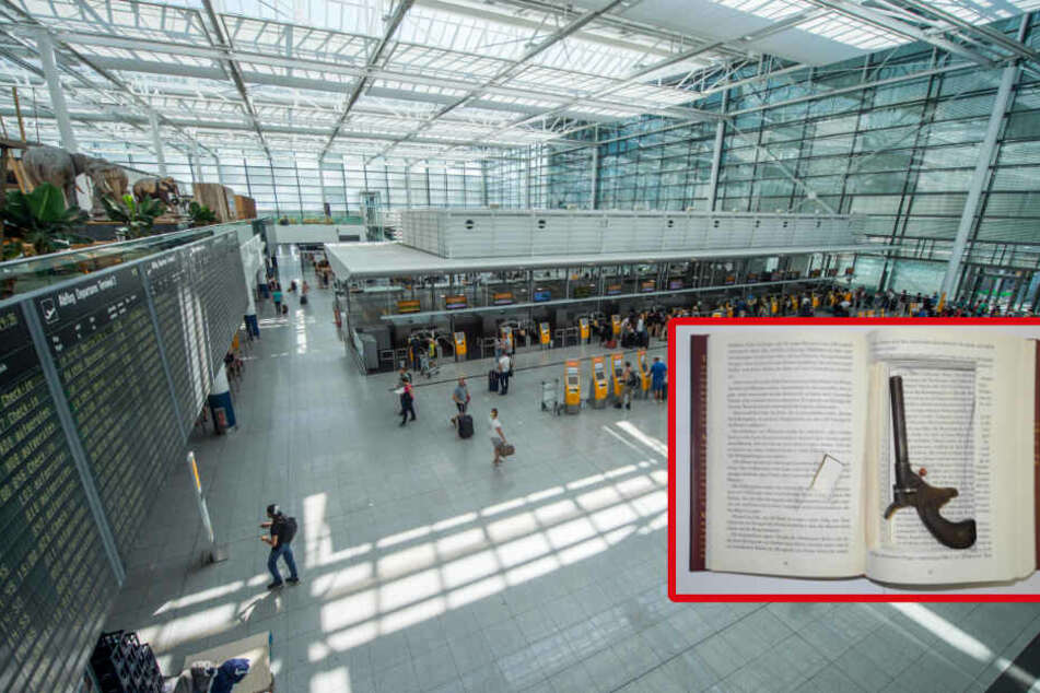 Frau kauft Buch im Internet: Bei Kontrolle am Flughafen findet man darin Erstaunliches