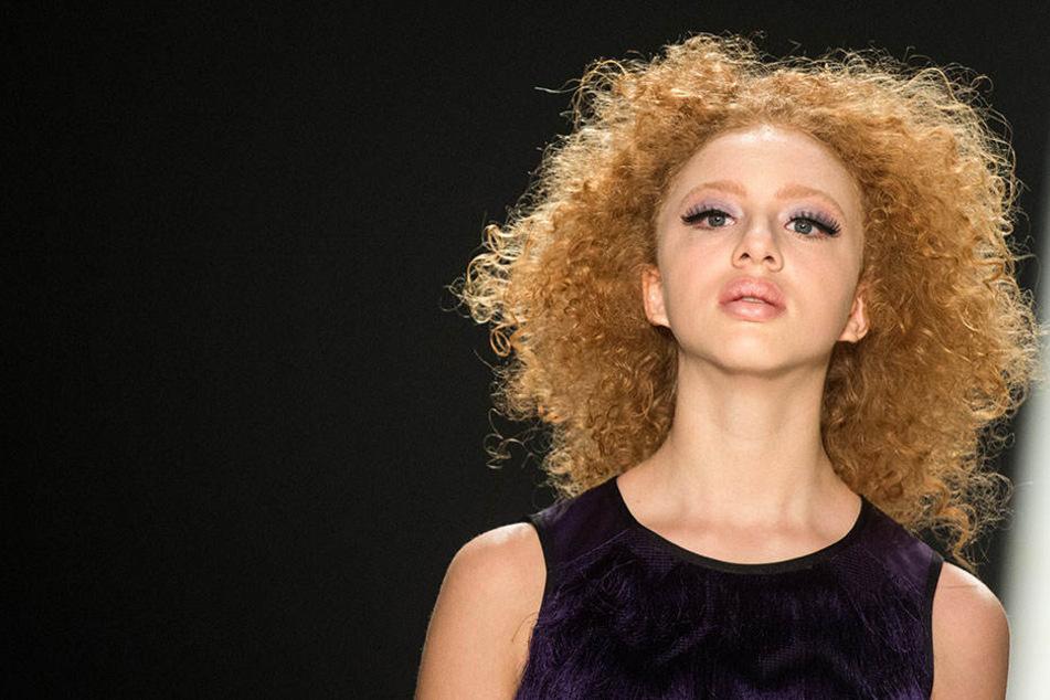Anna Ermakova arbeitet schon seit längerer Zeit als Model.