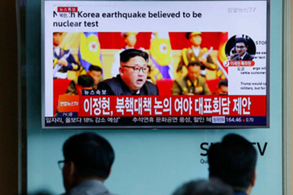 Handelte es sich hier nur um ein Erdbeben? Oder experimentiert Nordkorea mit einer Atombombe?