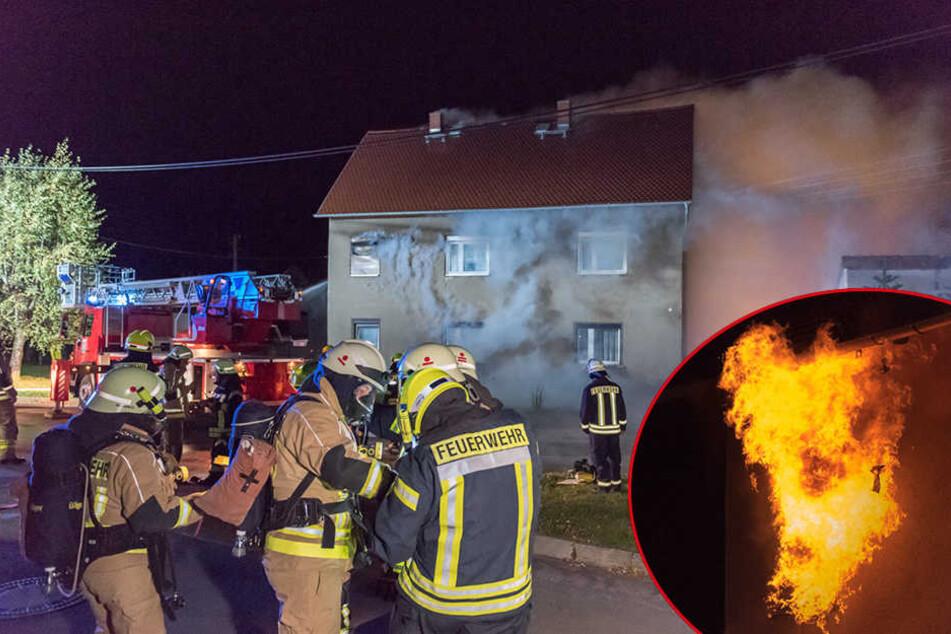 Die Feuerwehr konnte den Küchenbrand löschen, der Schaden ist aber enorm.