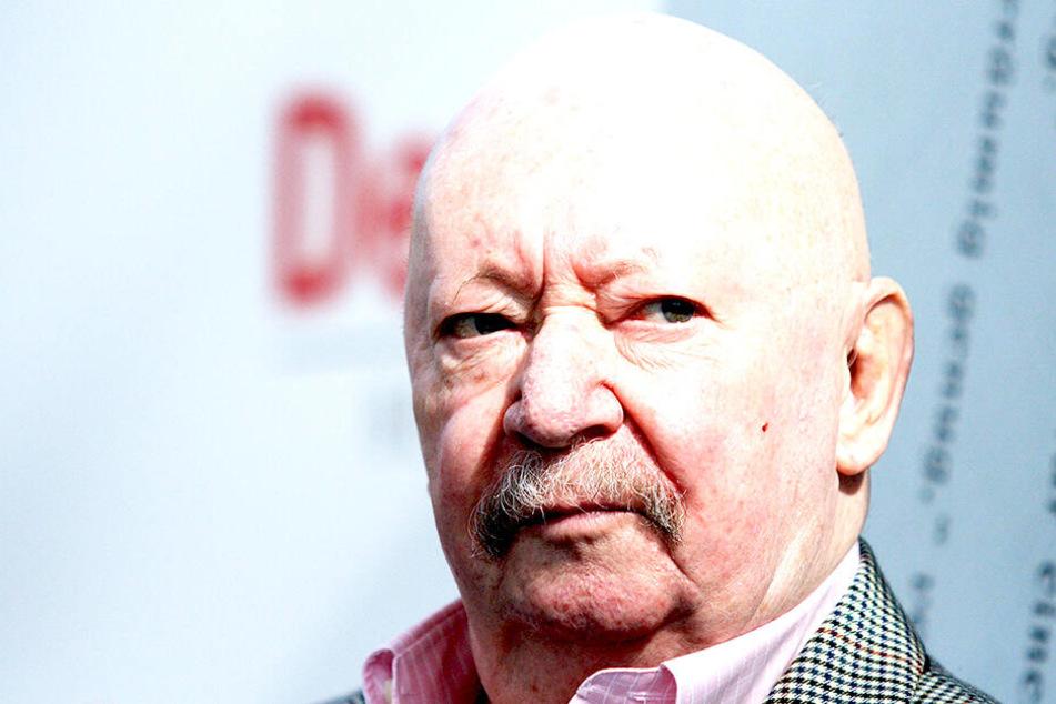 Günter Kunert (90) auf der Leipziger Buchmesse (Archivbild).