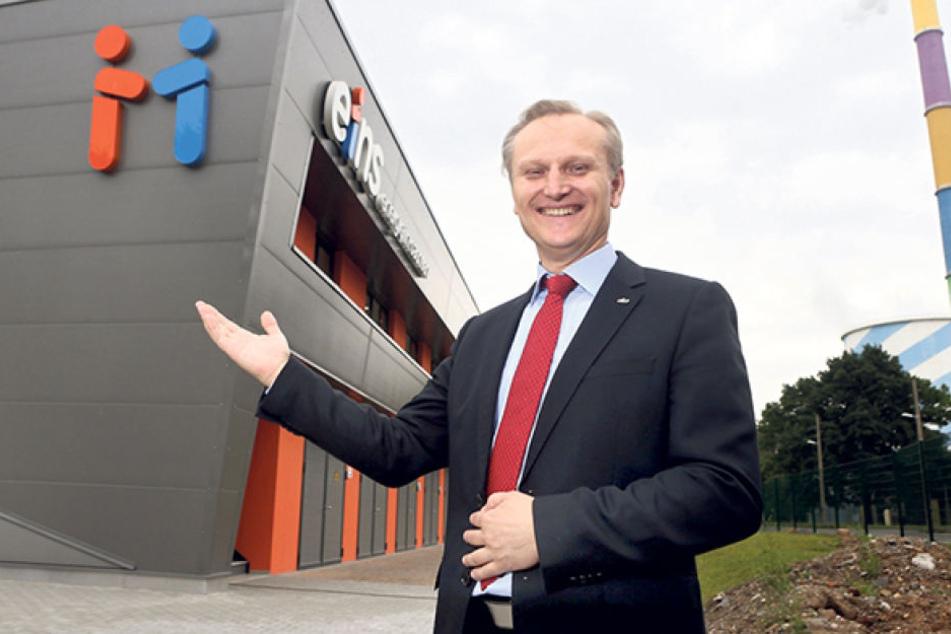 Roland Warner, Chef von Eins Energie.