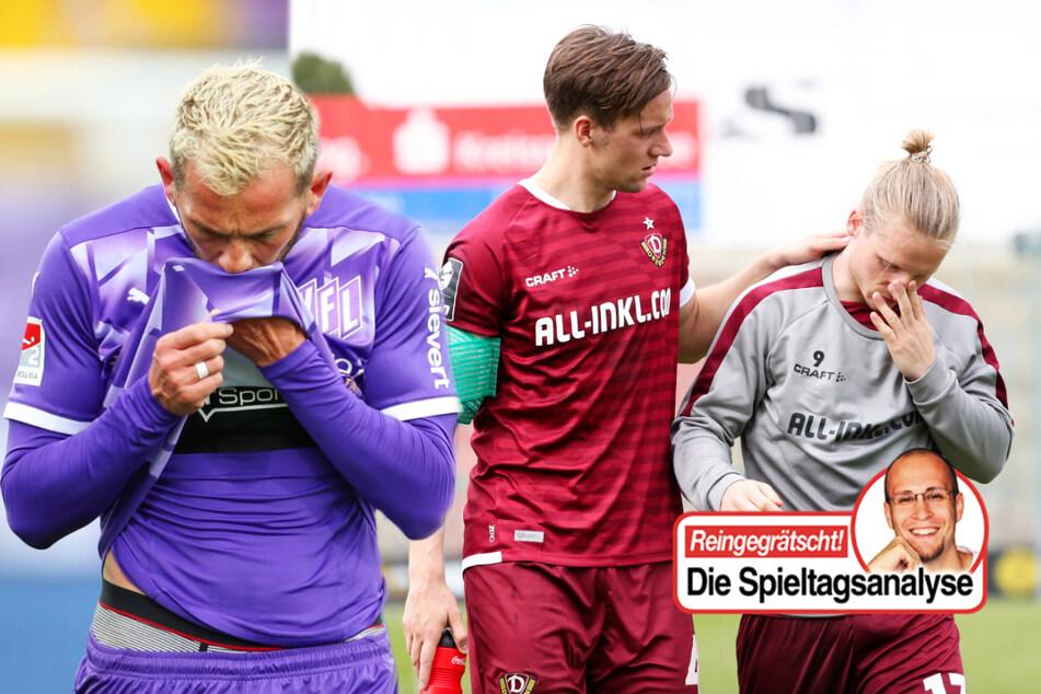 Dynamo mit gefährlichem Spiel, VfL Osnabrück am Tiefpunkt!