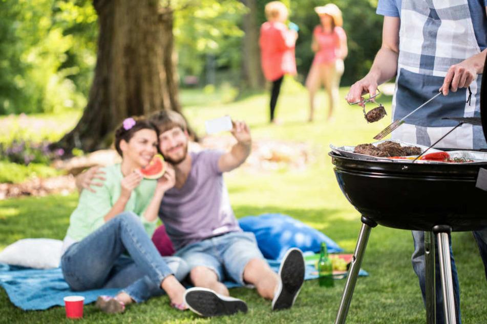 Barbecue im Park: Ärger mit Müll und Einweggrills in Thüringen