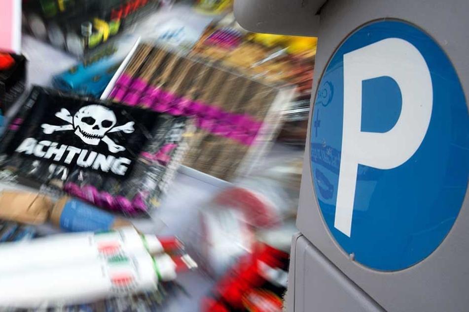 Aus Angst vor Böller-Anschlägen bleiben über Silvester viele Parkautomaten zu.