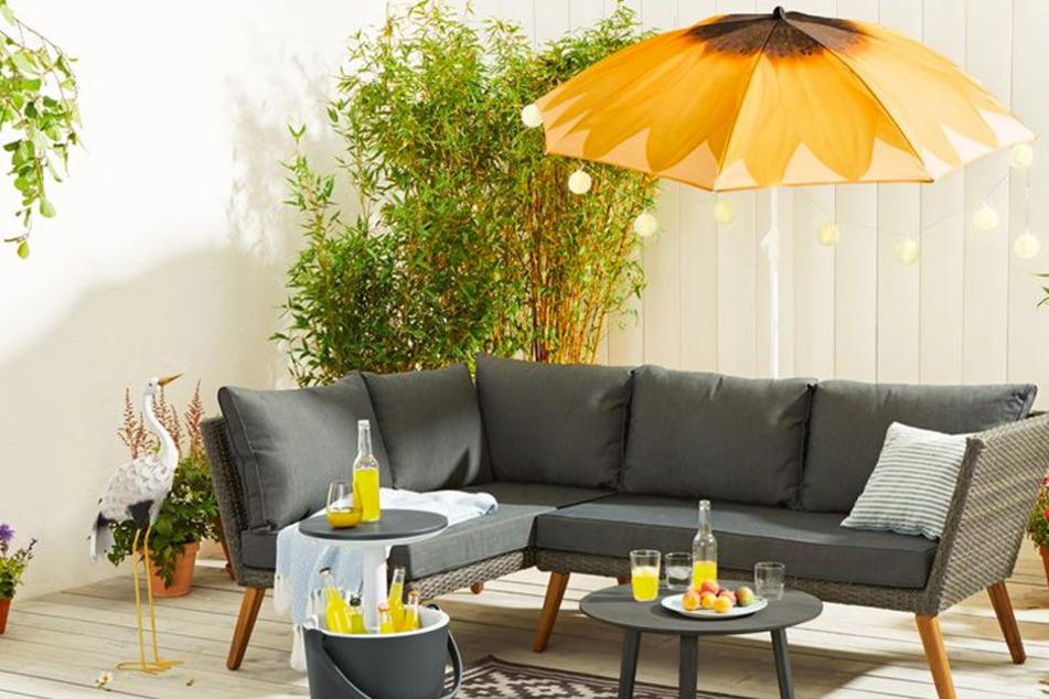 Für Garten und Balkon: LIDL verkauft jetzt stylische Sonnenschirme
