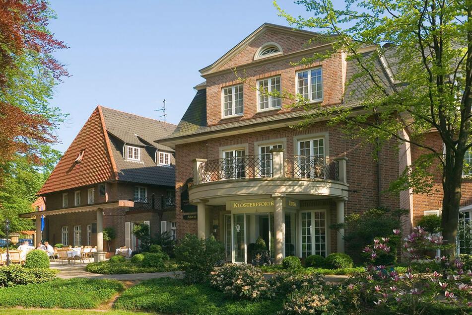 Die Türen sind geöffnet, die Gäste willkommen! In diesem Hotel werden die Gladbach-Stars eine Woche lang wohnen.