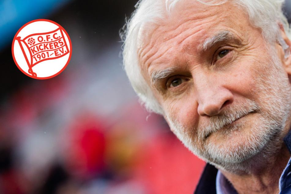 """Rudi Völler kauft 100 """"Geistertickets"""" von Kickers Offenbach"""