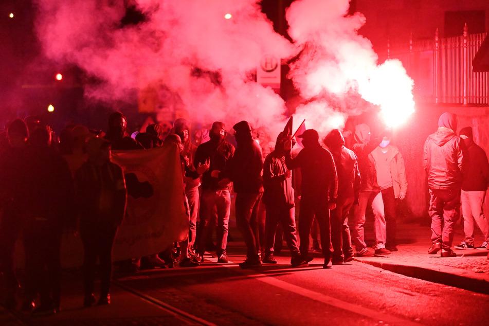 Drei Abende in Folge war es in Leipzig zu Ausschreitungen gekommen.