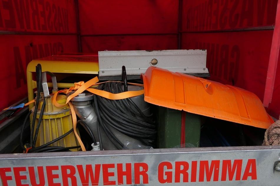 Auch andere Hilfsmittel werden mit nach Rheinland-Pfalz genommen.