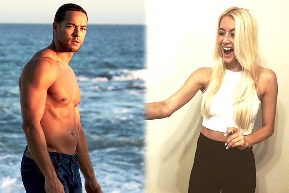 Überraschung! Sexy Blondine will anderen Ladys den Bachelor wegschnappen