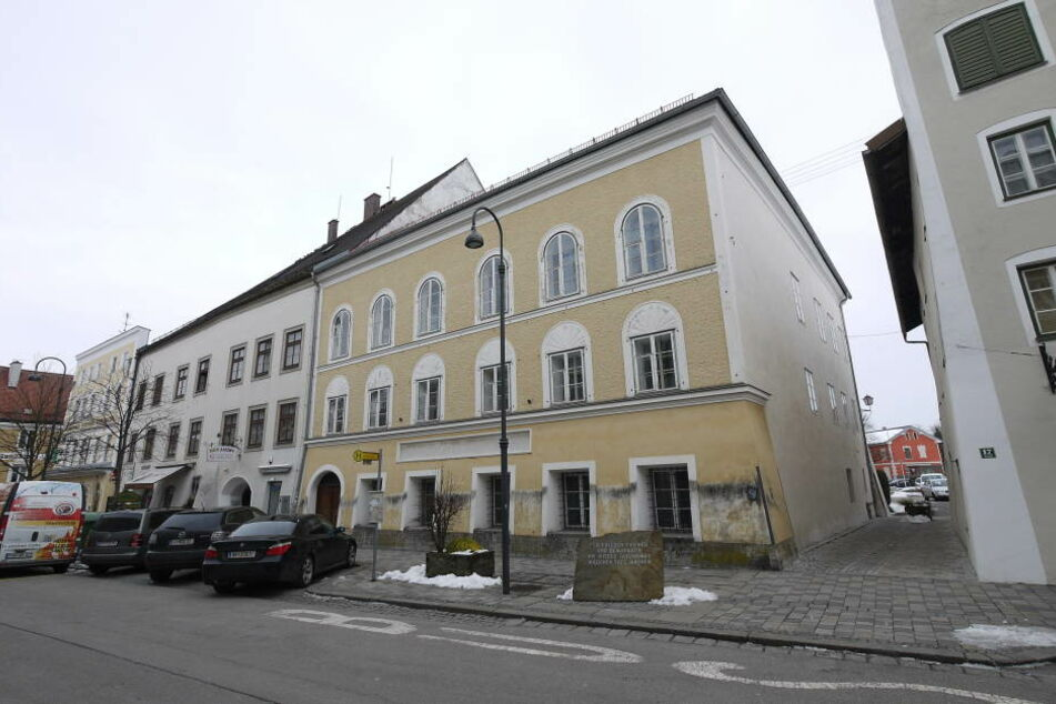 Das Geburtshaus von Adolf Hitler im österreichischen Braunau.