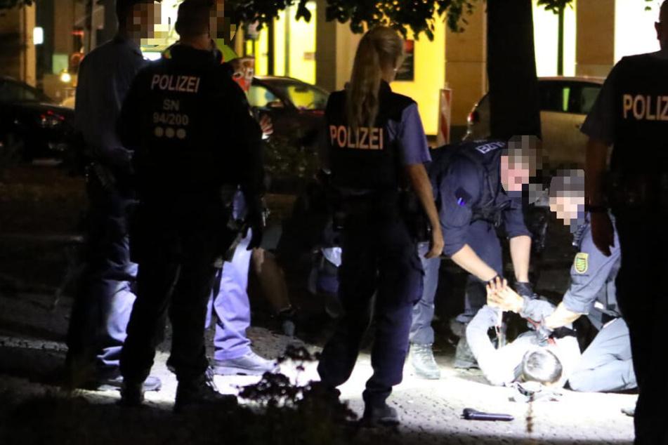 Leipzig: Blutige Auseinandersetzung in Leipzig: Teenager schwer verletzt