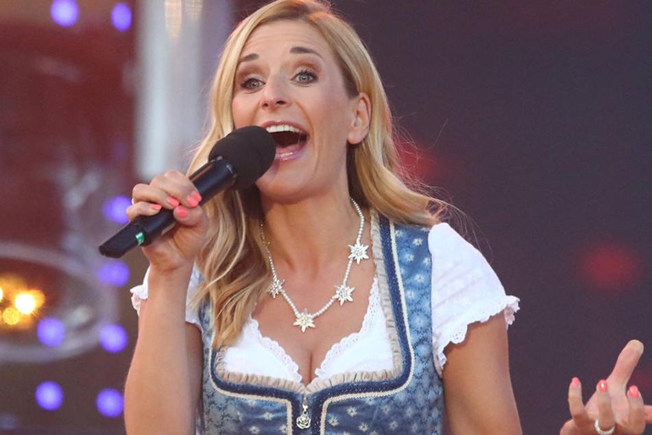 Stefanie Hertel würde bei einem Konzert für Respekt, Toleranz und Integration mitsingen.