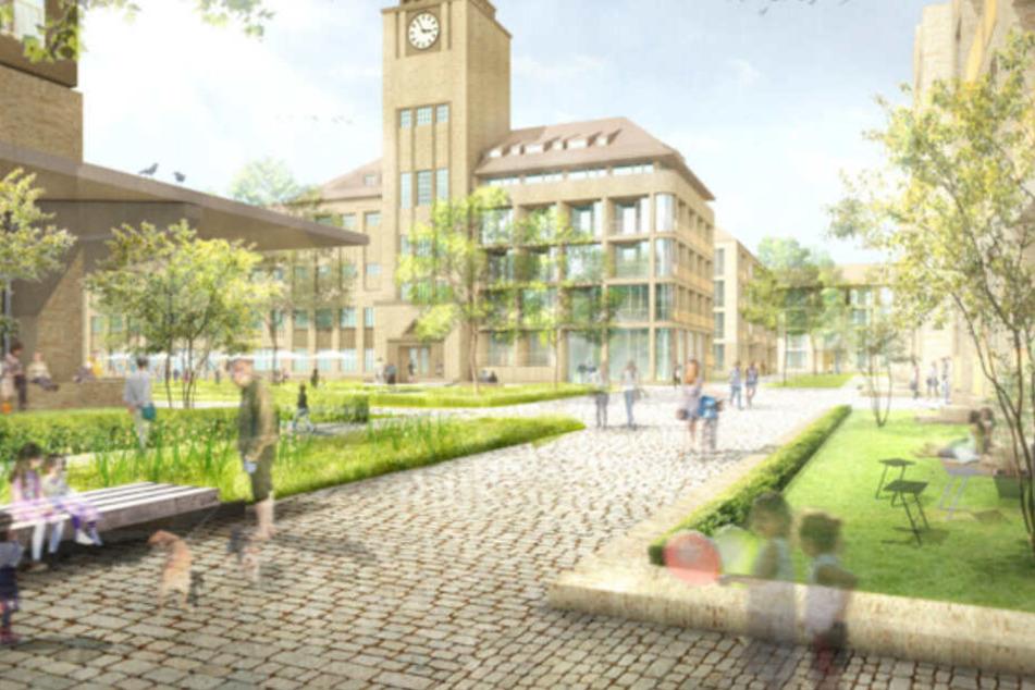 Sterni-Brauerei weicht neuem Viertel, so wird es aussehen