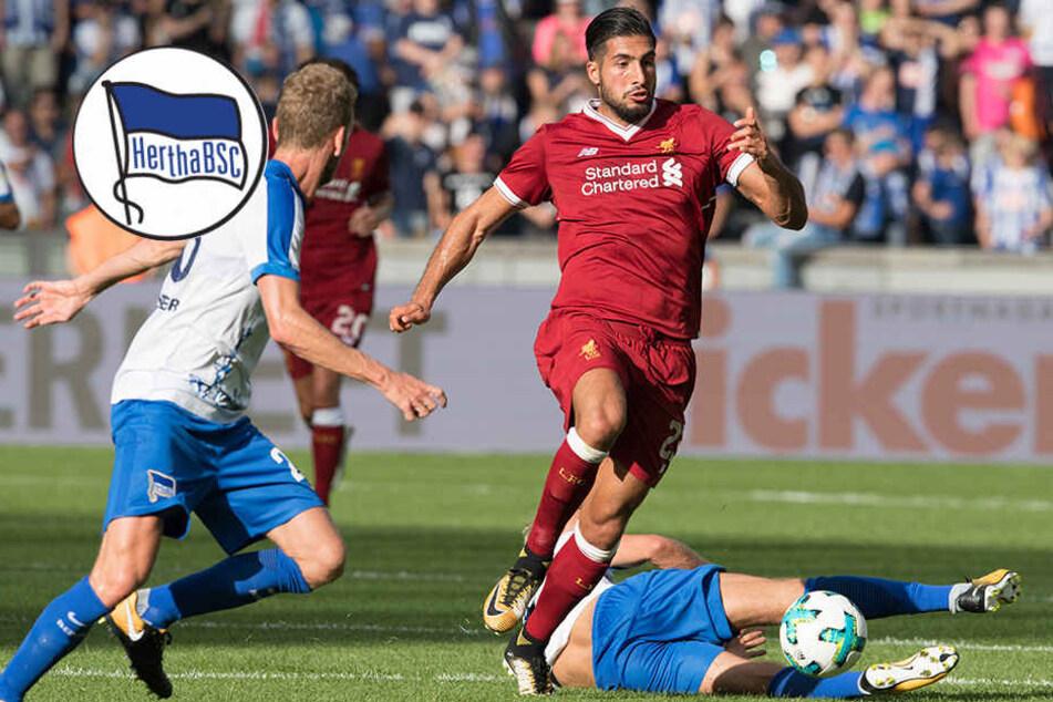 0:3 - Hertha unterliegt Liverpool und Klopp im Jubiläumsspiel