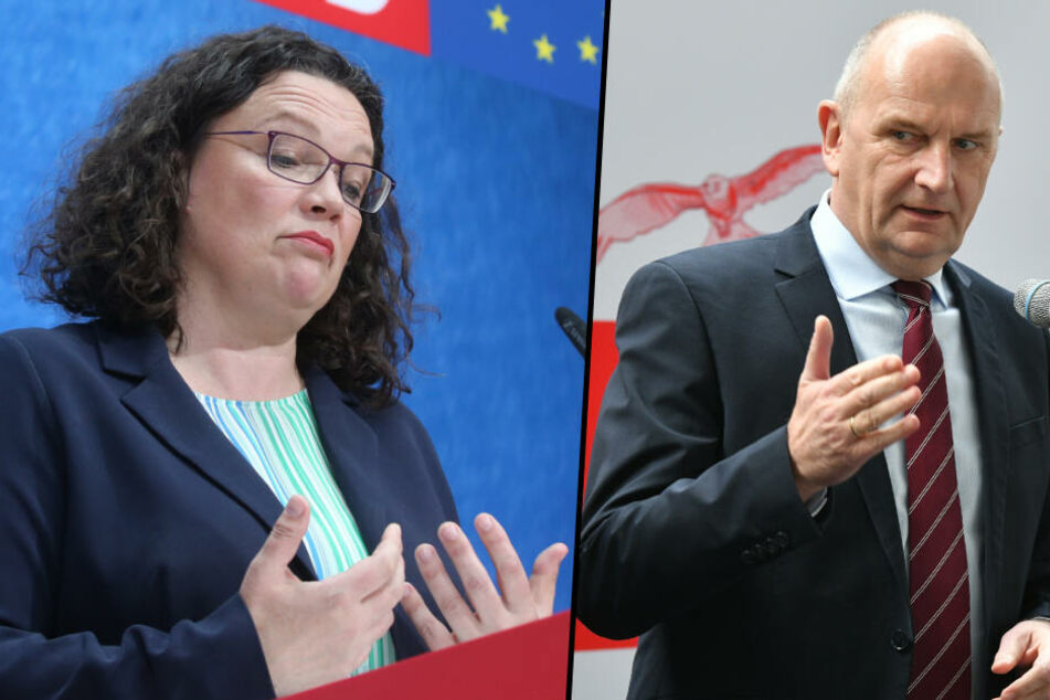 Nach SPD-Debakel bei Europawahl: Ministerpräsident Woidke stärkt SPD-Chefin Nahles den Rücken