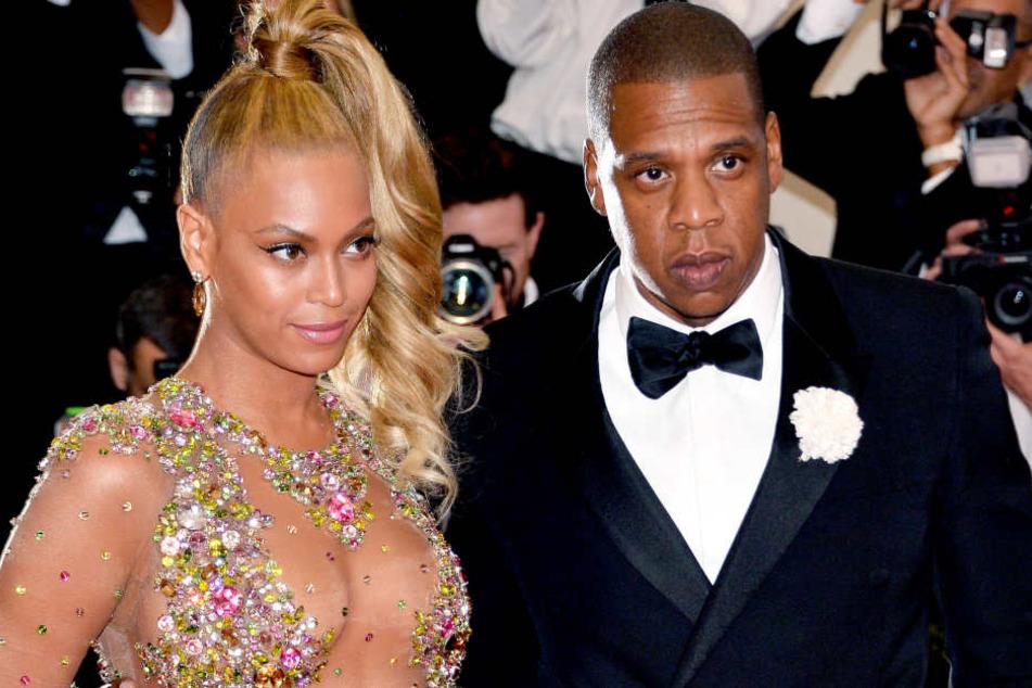 Beyonce und ihr Ehemann Jay-Z.