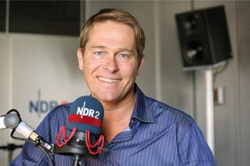 """Der ARD-Moderator Hinnerk Baumgarten ist unter anderem durch das Magazin """"DAS!"""" auf NDR bekannt."""