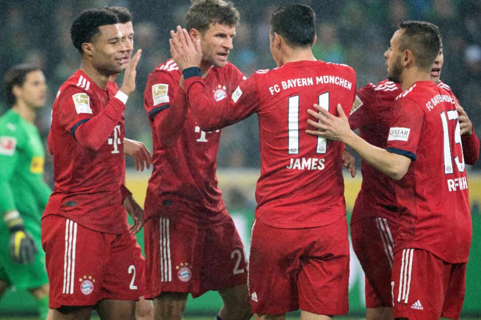 Thomas Müller konnte für den FC Bayern München in der Anfangsphase erhöhen.