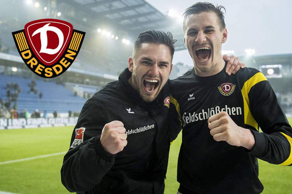 Taktikpoker: Holt Dynamo mit Doppelspitze den Auswärtssieg?