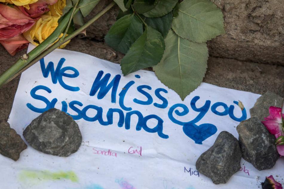 Noch immer sitzt die Trauer über Susannas Tod tief.