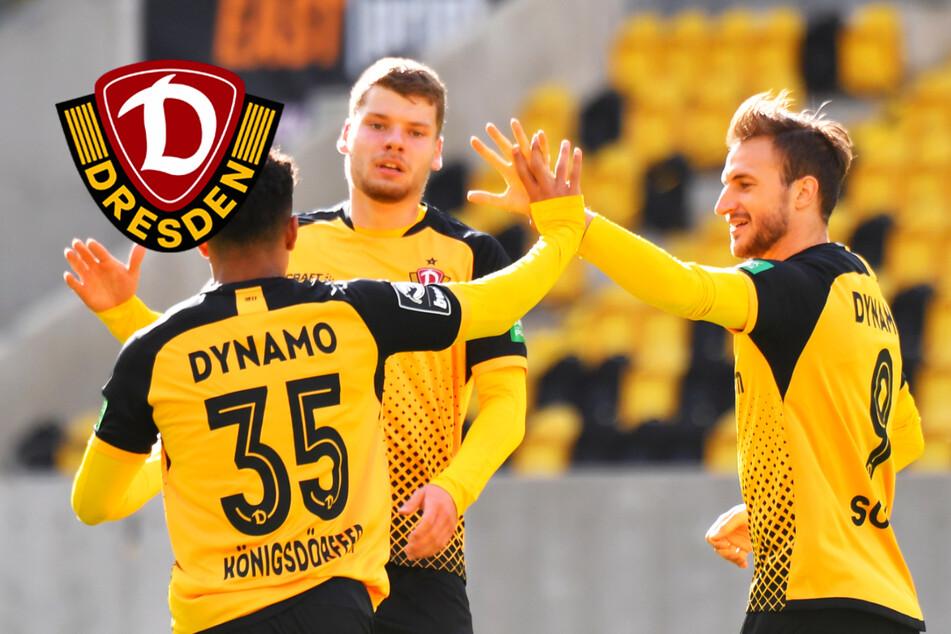 """Dynamo-Stürmer Sohm lobt Königsdörffer und freut sich über sein """"einfaches Tor"""""""