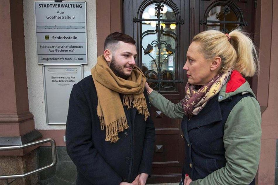 Sie kämpft für den Flüchtling aus Armenien: Aues Stadtsprecherin Jana Hecker