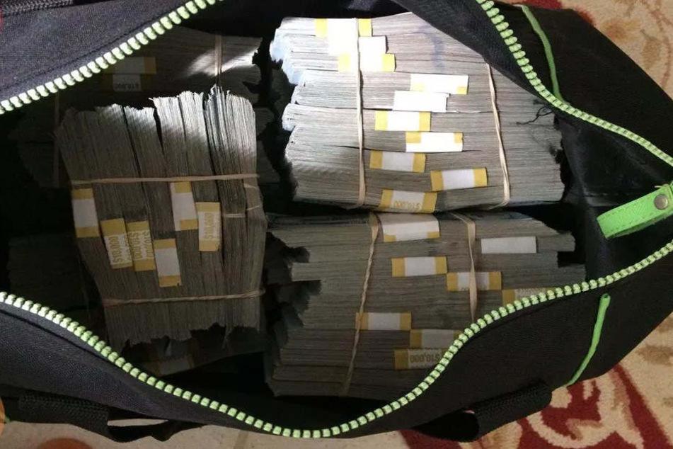 So viel Geld: In der erworbenen Immobilie lagen 7,5 Millionen Dollar.