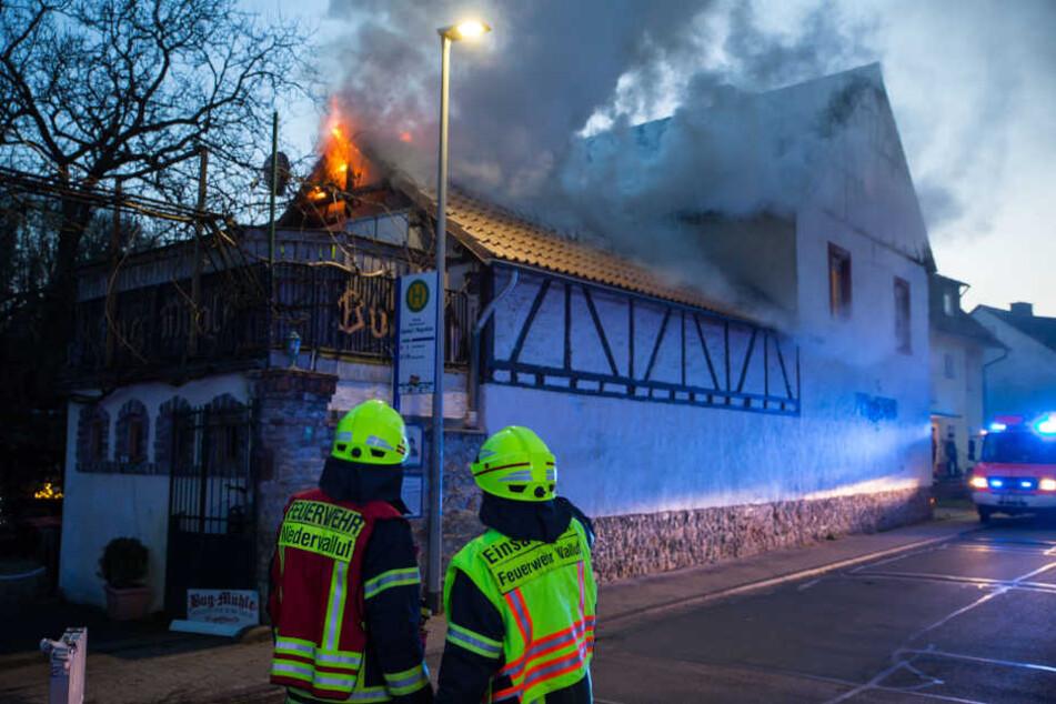 An der Mühle entstand ein Sachschaden von rund 80.000 Euro.