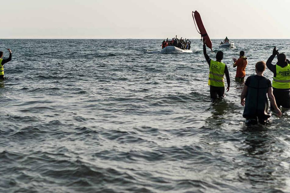 Die TorhüterinFatim Jawara (19) ist auf der Flucht nach Europa ertrunken. (Symbolbild)