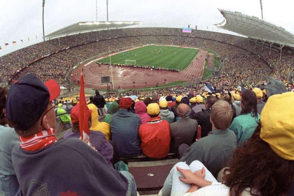 Die Hertha-Bubis erreichten 1993 das DFB-Pokalfinale gegen Bayer Leverkusen.