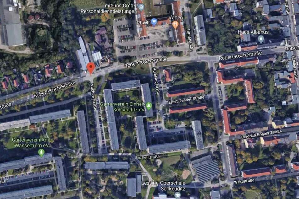 Der Vorfall mit Todesfolge ereignete sich am 23. Februar in der Schkeuditzer Robert-Koch-Straße.