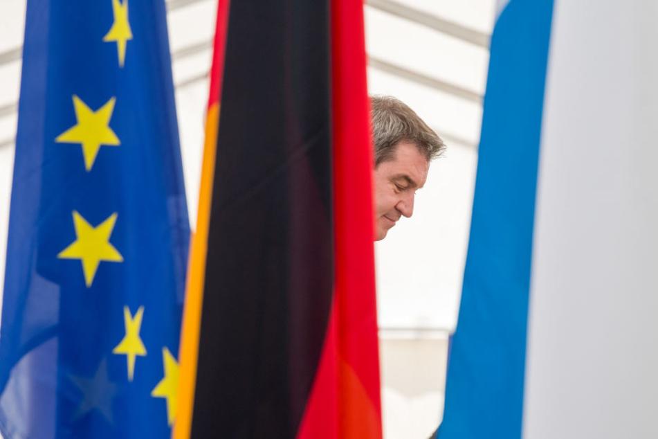 Europapolitik ist Ministerpräsident Söder wichtig. (Achrivbild)