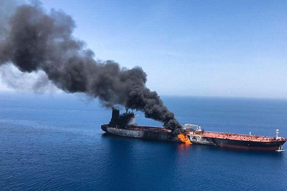 Der Angriff auf diesen Tanker birgt viel Konfliktpotenzial in der Iran-Krise (Archivbild).