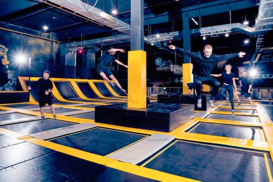 Jump-Mekka kommt: In diesem Monat soll der Trampolinpark Superfly eröffnet werden